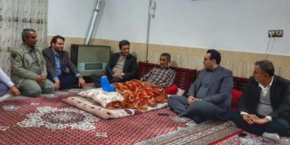 دیدار مدیرکل حفاظت محیط زیست گلستان با قهرمان تالاب های گلستان