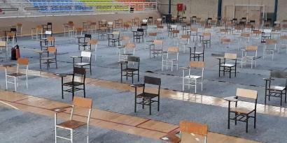 آمادگی حوزه های کنکور سراسری سال 99 در بندرگز / کنکور آغاز شد