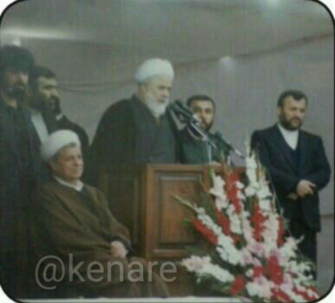 عکس دیده نشده از آیت ا… هاشمی رفسنجانی در شهرستان بندرگز استان گلستان